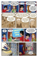Gabe and Allie in Race Through Time, Episode 6, page 2