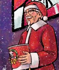 Santa Colonel KFC