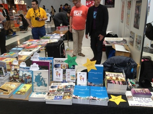 TCAF Booth